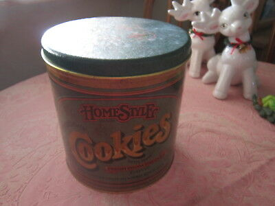 vintage Home Farm style Ballonoff Cookie tin Metal canister cookie jar