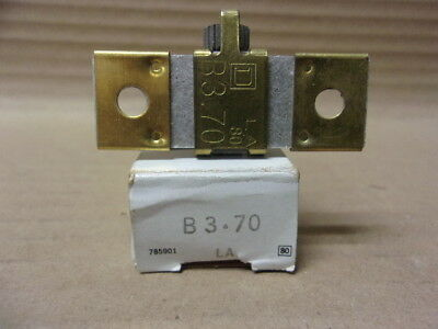 New Square D B3.70 overload heater element