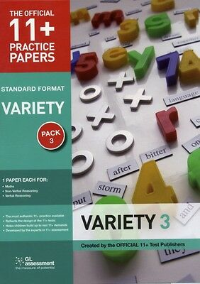 11+ Practice Papers Standard Variety Pack 3 (The Official 11+ Pra...