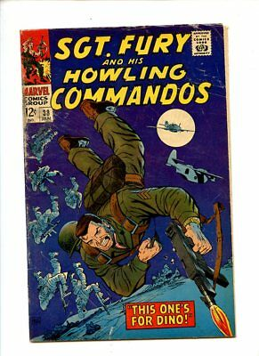 Sgt. Fury and his Howling Commandos #38 (1966) GD/VG