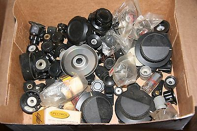 Huge Assortment Of Control Knobs, Audio, Video, Etc.