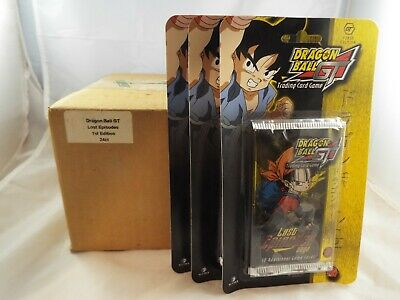 Dragonball Z Chromium Archive Edition Lot Of 24 Sealed Packs