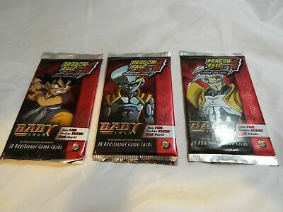 Dragonball Z Holochrome Archive Edition Lot Of 24 Sealed Packs