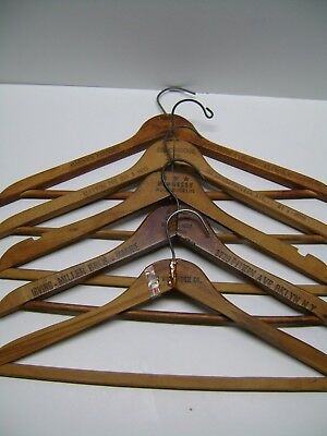 Lot of 5 Vintage Clothes Hangers
