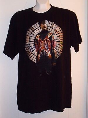 """Prince """"Welcome to Chicago"""" United Center September 2012 Concert T-shirt Size L"""