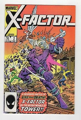 Marvel Comics X-Factor #2 Copper Age
