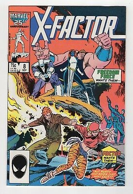 Marvel Comics X-Factor #8 Copper Age