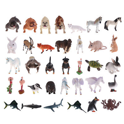 Simulation Jungle Wild Animal Model Figure Educational Nature Toy Collectibles