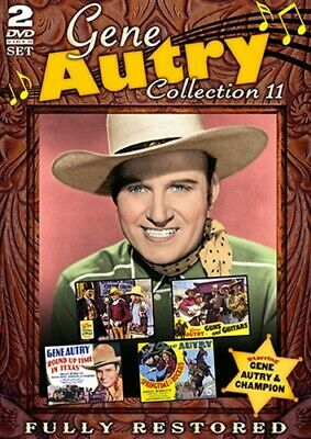 GENE AUTRY MOVIE COLLECTION 11 New Sealed 2 DVD Set 4 Restored Films