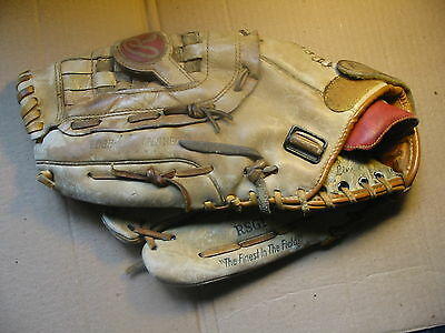 Rawlings Baseball Glove RSG1 SUPER SIZE model fits on Right for Left thrower