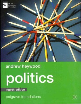 Politics by Andrew Heywood 9780230363380 (Paperback, 2013)
