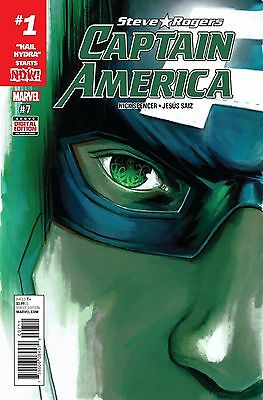 CAPTAIN AMERICA STEVE ROGERS #7, New, First print, Marvel NOW (2016)