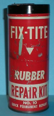 Fix-Tite Rubber Repair Kit No. 10, Canister