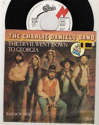 SI Charlie Daniels  the Devil went Down to Georgia 1979 Epic  BRD  PROMO