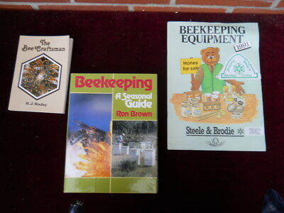 Collection of Three Beekeeping Publications