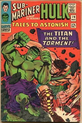 Tales To Astonish #79 - G+