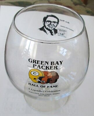 Green Bay Packers- Hall of Fame Glass- Ron Wolf