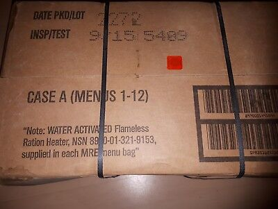 1Karton MRE Meal ready to eat US Army Notvorrat Tagesration  Case A