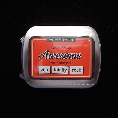 Magnetic Poetry Little Box of AWESOME Word Magnets