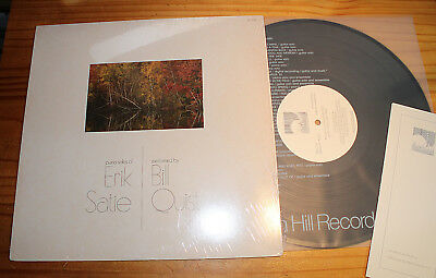 Bill QUIST plays Piano Solos of SATIE LP WINDHAM HILL RECORDS (US, 1979)