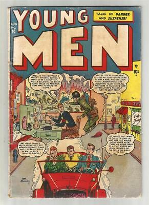 Young Men #10, August 1951
