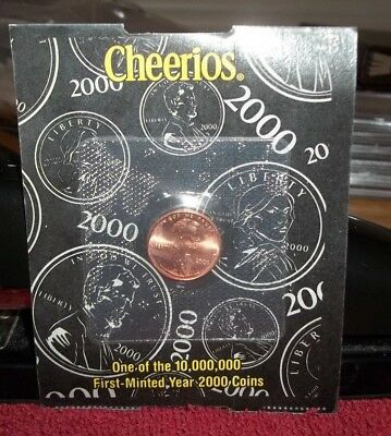 2000 Cheerios Penny Uncirculated in Original Package