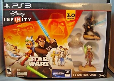 Star Wars Disney Infinity 3.0 Edition Starter Pack (PlayStation 3, 2015) NEW PS3