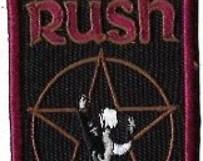 Rush Star Man Embroidered Patch / Iron-On Applique, Officially Licensed