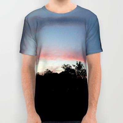 All Over Printed T-shit: Austin Sunset (an original designer unisex t-shirt)