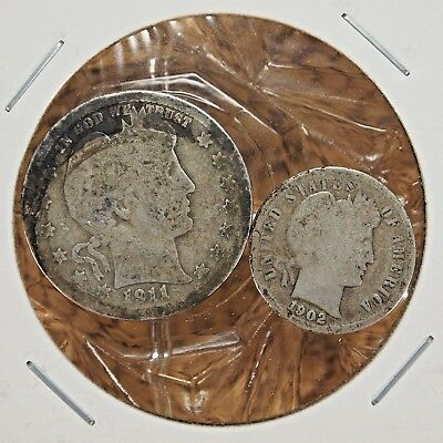Nice Lot Of 2 United States Coins (Nice Addition To Your Collection).....#13384