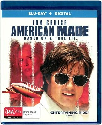 """AMERICAN MADE: Based On A True Lie"" Blu-ray + Digital Copy - Region [B] NEW"