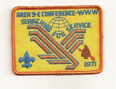 1971  Area 9-E  Conclave  Participant Patch Oa  Lodge