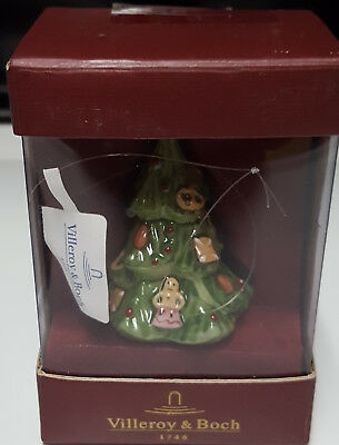 Villeroy & Boch Christmas Tree Ornament Mettlach D66693 Brand New In Box