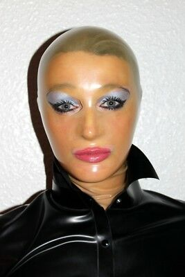 Latexmaske Latexmasken rubbermask Latex Masken anatomisch transparent