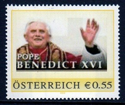 Pers. Marke AN: 8006086 - Pope Benedict XVI - 0,55 Euro.