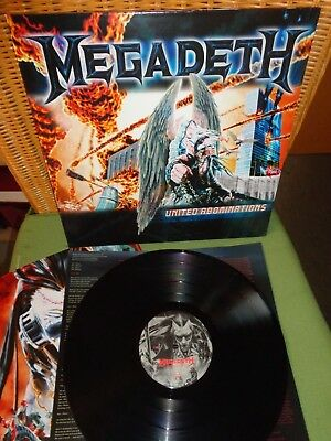 Megadeth- United Abominations- Vinyl LP- 2007- Germany