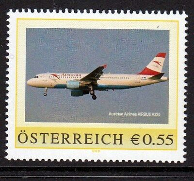 Pers. Marke AN: 8006057 - Airbus A 320 - Austrian Airlines - 0,55 Euro.
