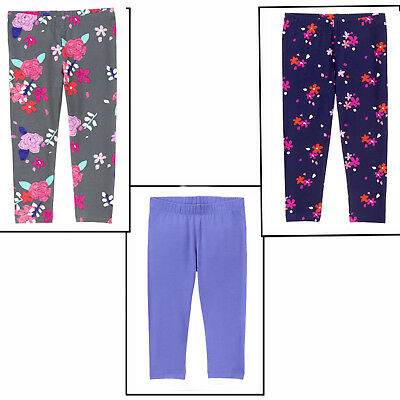 Gymboree Girl Mix & Match Capri Leggings Blue or Floral 5 6 14 NWT Retail Store