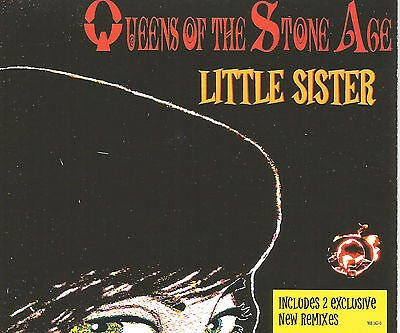 QUEENS OF THE STONE AGE Little Sister /Blood 2 REMIXES CD single SEALD USA seler