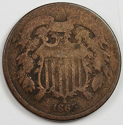 1865 Two Cent.  Good. 68117