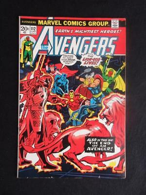 Avengers #112 MARVEL 1973 - NEAR MINT 9.0 NM - 1st app Mantis - Captain America!