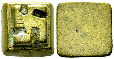 Akan goldweight with SVASTICA. Very Ancient African coin weight. Worth $3500