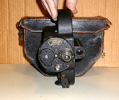 Bell and Howell   Filmo 70 Vintage movie camera Detroit 1926 Wm. Bushnell Stout?