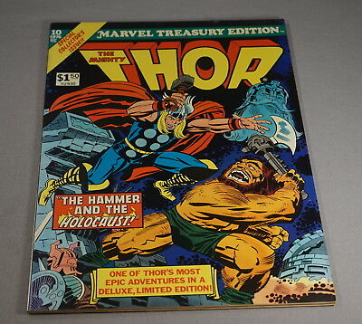 Original 1976 Marvel Treasury Edition No. 10 The Mighty Thor Comic Book