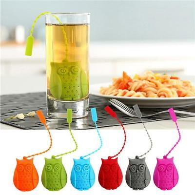 Silicone Tea infuser loose Tea Leaf Leaves Herbal Strainer Many Color CB