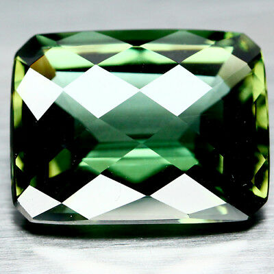 18.97 Ct Aaa Green Uruguay Amethyst Octagon Cut With Checker Board Table