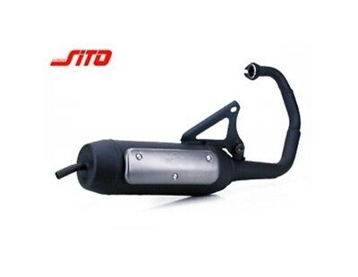 Exhaust Sito plus for MBK Booster Yamaha Bws Italjet Pista Scoop 50