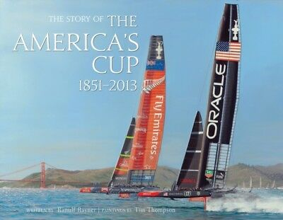 The Story of the America's Cup 1851- 2013 (Hardcover), Thompson, . 9781851497621
