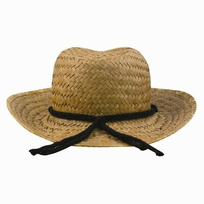 Straw Hat Boys String Retro Cowboy Unisex Egg Hunt Party Easter