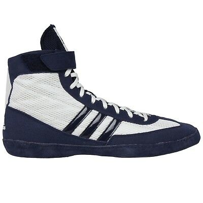 Special Offer Adidas Combat Speed 4 Wrestling Boots White Shoes Size 2uk only